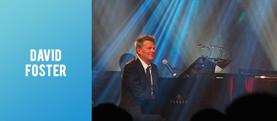 David Foster at Palace Theater